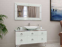 Bath set, sink, mirror