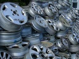 Aluminium legering wiel kladjes