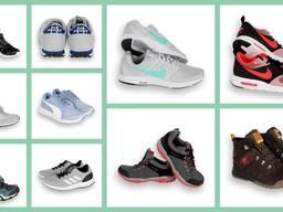 Брендовые кроссовки Adidas, Salomon, Nike, New Balance и др