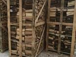 Brennholz aus Hartholz in Form von Baumstämmen - photo 2