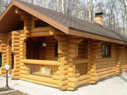 Дома из бревна оцилиндрованного - фото 6