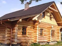 Дома из рубленного бревна под ключ