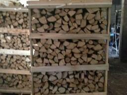 Дрова колоті сухі граб , ясен, дуб, береза - фото 4