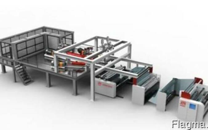 Экструзионная линия для производства 3 слойной каст-пленки