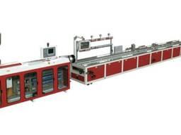 Экструзионная линия для производства дверных панелей из ДПК