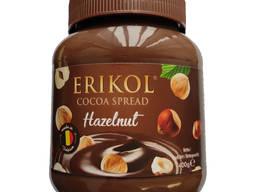 Erikol - фундук с какао и пастой - 400г -Сделано в Бельгии-