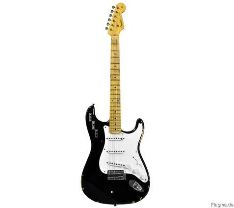 Fender Privat Collection H. A. R. Stratocaster - Black