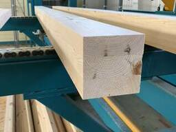 Glulam, glued beams