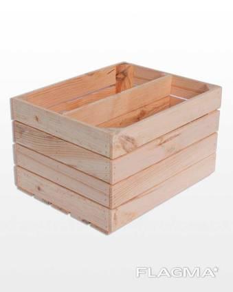 Holzkisten zur Lagerung und zum Transport