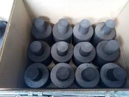 Изделия из графита: пластины, электроды, тигли, блоки, кольца, втулки, стержни, колодки