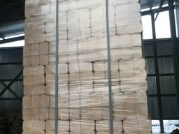 Колотые дрова и брикеты RUF из берёзы