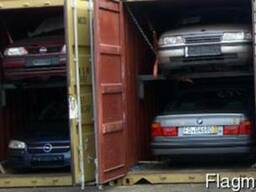 Контейнерная доставка автомобилей из Европы на Кавказ, Азию