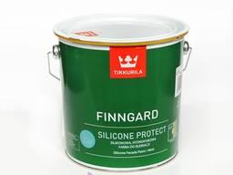 Краска фасадная силиконовая Tikkurila finngard 9l. Строиматериалы из Польши