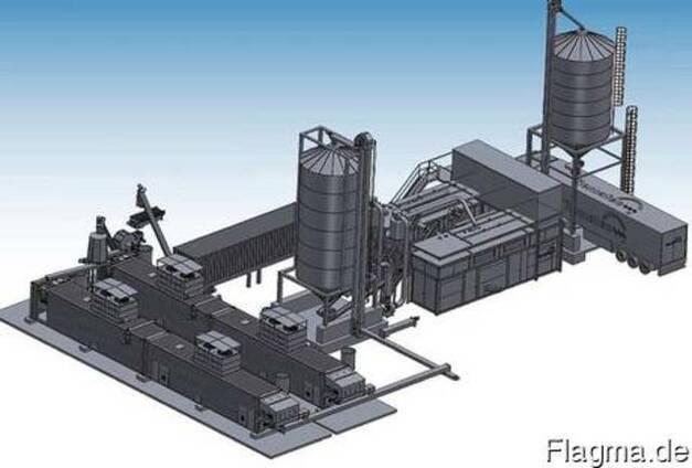 Купить полную линию производства гранул/пеллет MOPS
