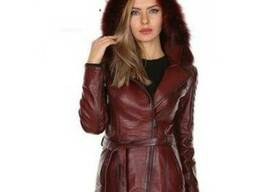 Leather womenswear and menswear brands.