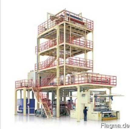 Линии для производства многослойной термоусадочной пленки