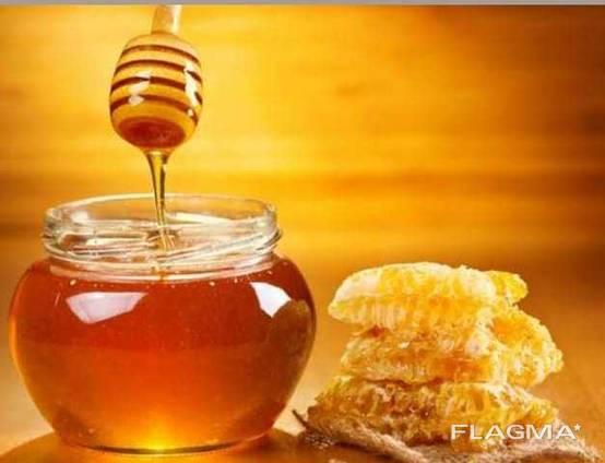 Лук, овощи и фрукты, мёд