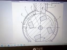 Магнитно-маховичный двигатель