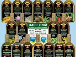 Масла растительные не рафинированные Украина