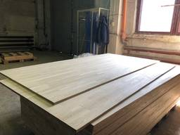 Мебельный Щит из Дуба 18-45 мм