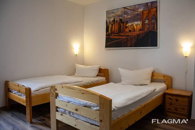 Меблированный апартамент в Дюссельдорфе рядом с аэропортом и выставкой
