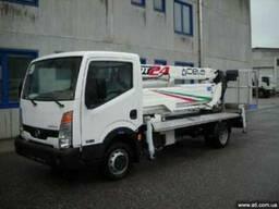 Новая автовышка Nissan Cabstar 35 11 Cela DT-24 Италия