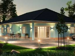 Новые дома район южнее Гамбурга: Buchholz, Jesteburg, Seevetal und Rosengarten