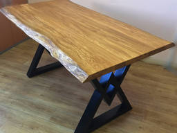 Oak tables, tabletops and end grain cutting boards