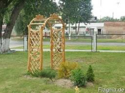 Порталы и арки для дома и сада .