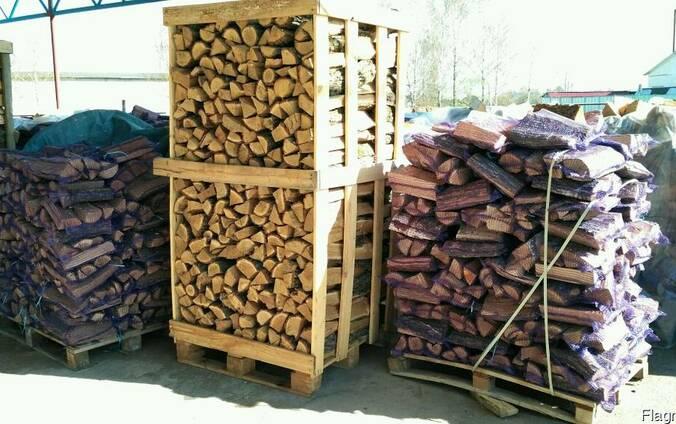 Продаём дрова колотые (дуб, ольха, береза)