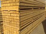 Sawn timber of pine - photo 2