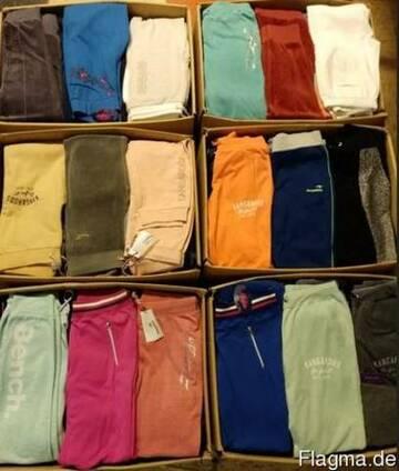 Спортивные домашние брюки леггинсы Микс Сток одежда оптом