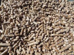 Топливные гранулы из древесини