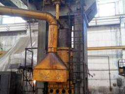 Hydraulic press for plastics, force 1000t - photo 3