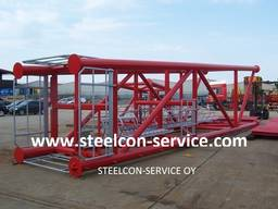 Welded steel construction, building steel construction