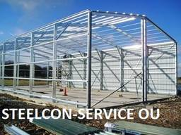 Welded steel construction, subcontract works