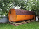 Wir bieten Saunen aus Holz / Предлагаем бани из бруса - фото 6