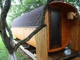 Wir bieten Saunen aus Holz / Предлагаем бани из бруса - фото 10
