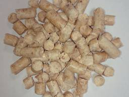 Wood fuel pellets, 6 mm