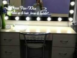 Зеркало для макияжа с подсветкой. - фото 2