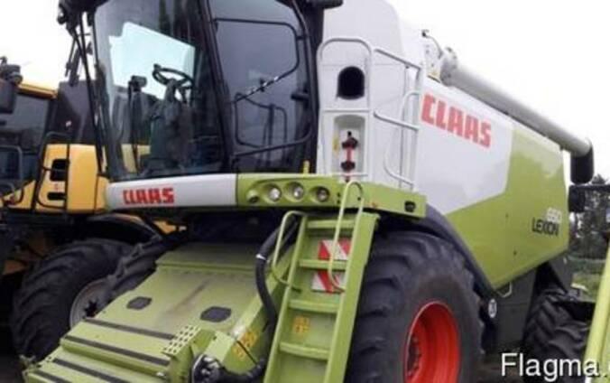 Зерноуборочный комбайн Claas Lexion 650, Германия
