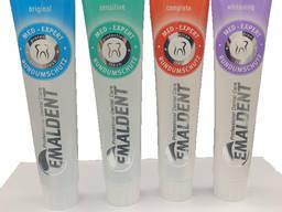 Зубная паста Emaldent - 4 разных типа - 125 мл